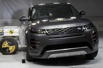 Range Rover Evoque ожидаемо стал отличником