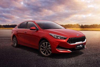 KIA Cerato для китайского рынка получил решетку радиатора в стиле Maserati