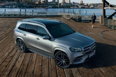Новый Mercedes-Benz GLS: первые фото