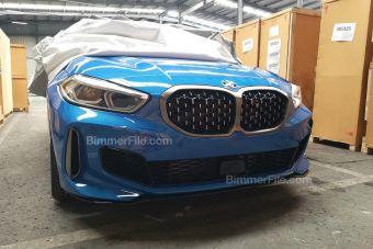 «Обычная» BMW 1-Series наверняка будет оформлена чуть проще, чем представленная на снимках M135i xDrive