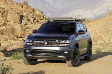 Volkswagen подготовил спецверсию Teramont для любителей офф-роуда
