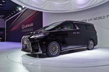 В Шанхае дебютировал первый минивэн марки Lexus