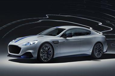 Aston Martin привез в Шанхай электрический спорткар Rapide E с необычной компоновкой