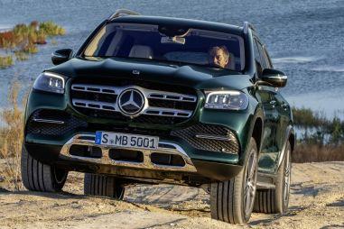 Новый Mercedes-Benz GLS стал более крупным, обтекаемым и электрифицированным