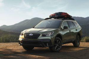 Subaru Outback нового поколения обзавелся турбомотором и экраном в стиле Tesla Model S