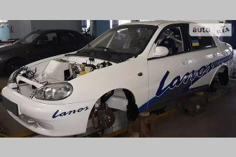 Завод ЗАЗ продает уникальный Lanos для кольцевых гонок