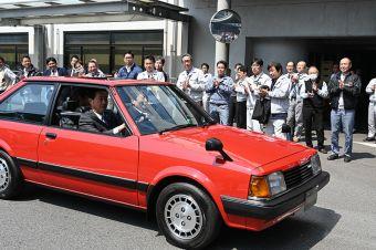 Работники Mazda отреставрировали Familia начала 80-х (ФОТО)