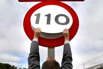 Предел скорости на трассах предложили увеличить до 110 км/ч