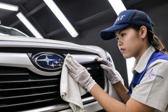 За пределами Японии у Subaru раньше был завод только в США