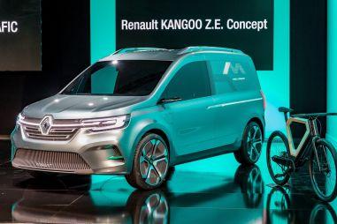 Renault представила прототип электрического Kangoo следующего поколения