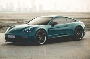 Porsche сделает из Panamera купе и кабриолет