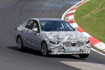 Новый Mercedes-Benz C-Class уже тестируют на Нюрбургринге