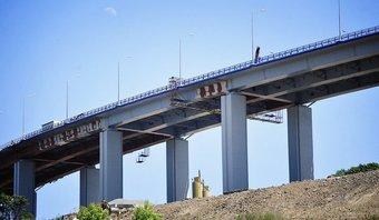 Почти готов черновой вариант проекта моста.