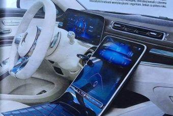 Раскрыт интерьер Mercedes-Benz S-Class следующего поколения