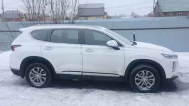Hyundai Santa Fe 2019 отзыв автора | Дата публикации 20.04.2019.