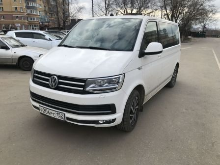 Volkswagen Caravelle 2018 - отзыв владельца