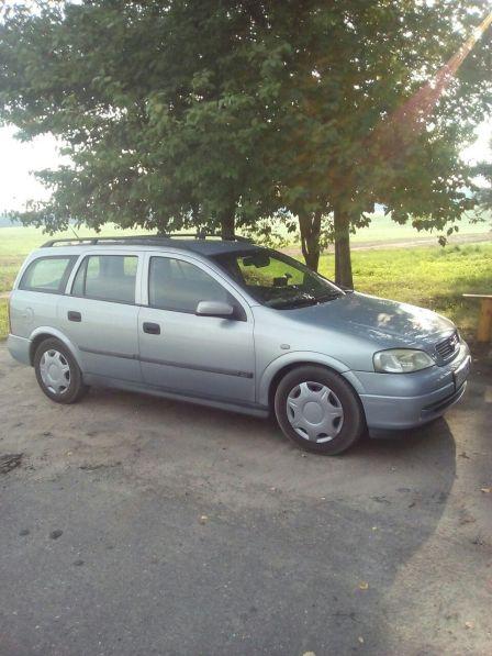 Opel Astra 2000 - отзыв владельца