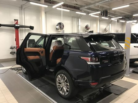 Land Rover Range Rover Sport 2017 - отзыв владельца
