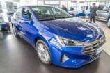 Hyundai Elantra. INTENSE BLUE_СИНИЙ (YP5)