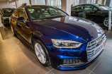 Audi A5. СИНИЙ, МЕТАЛЛИК (NAVARA BLUE)