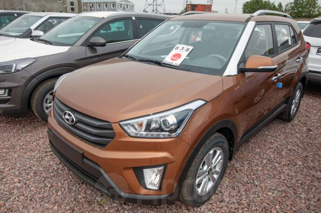 Hyundai Creta, 2019 год, 1 391 000 руб.