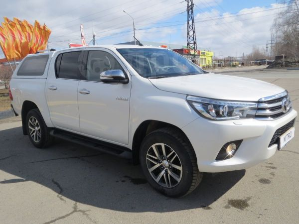 Toyota Hilux Pick Up, 2016 год, 2 079 000 руб.