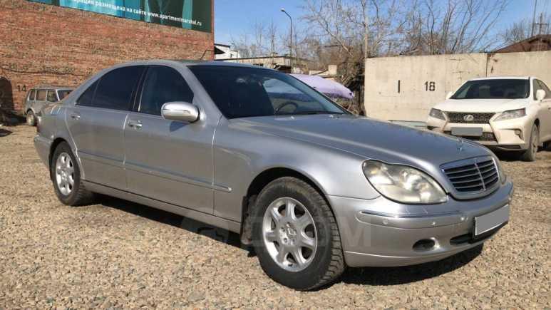 Mercedes-Benz S-Class, 2002 год, 425 000 руб.
