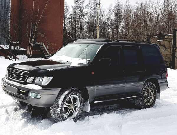 Toyota Land Cruiser Cygnus, 2002 год, 850 000 руб.