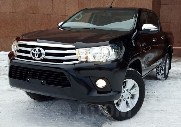 Toyota Hilux Pick Up, 2019 год, 2 485 000 руб.
