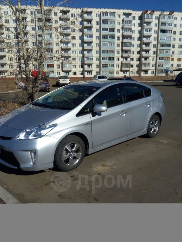 Prius с пробегом в Иркутске, купить б/у авто
