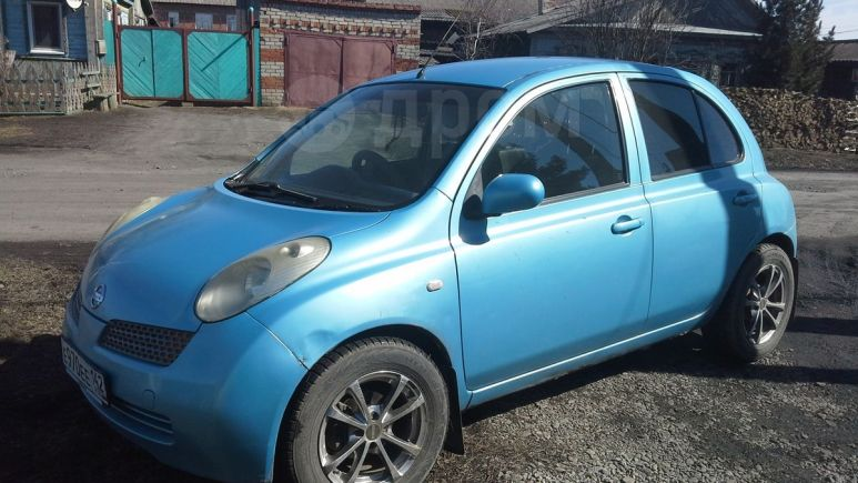 Nissan March, 2002 год, 167 000 руб.