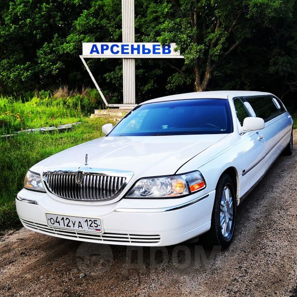 Lincoln Town Car, 2002 год, 1 000 000 руб.