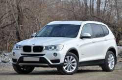 Кемерово BMW X3 2014