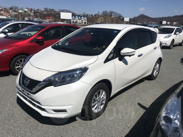 Nissan Note, 2017 год, 615 000 руб.