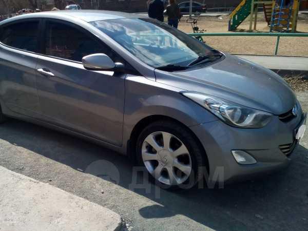 Hyundai Elantra, 2012 год, 665 000 руб.