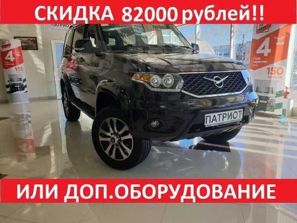 УАЗ Патриот, 2018 год, 1 153 700 руб.