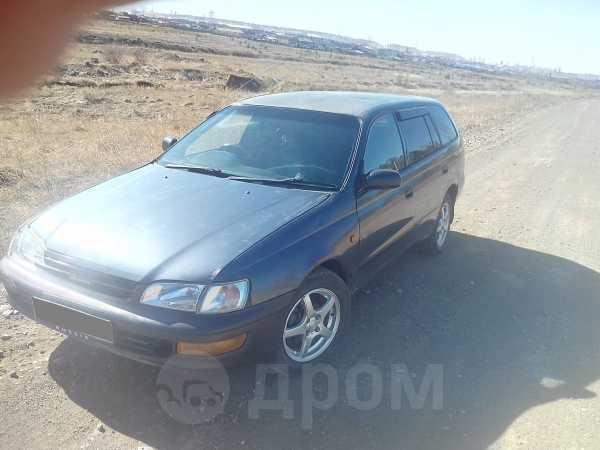 Toyota Caldina, 1996 год, 95 000 руб.
