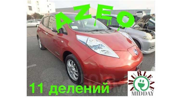 Nissan Leaf, 2014 год, 565 000 руб.