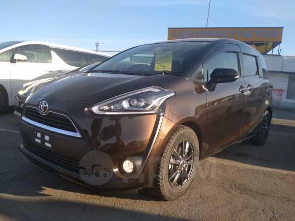Toyota Sienta, 2017 год, 1 085 000 руб.