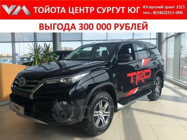 Toyota Fortuner, 2018 год, 2 651 000 руб.