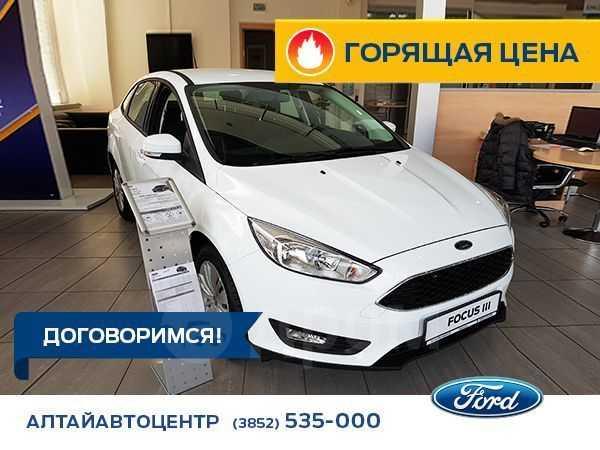 Ford Focus, 2018 год, 989 000 руб.