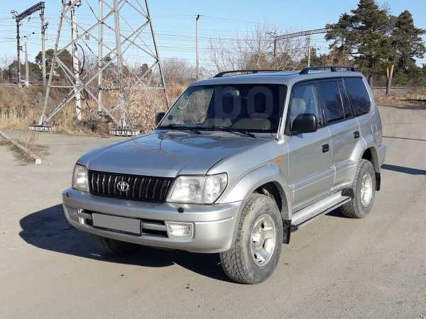 Toyota Land Cruiser Prado, 2001 год, 550 000 руб.