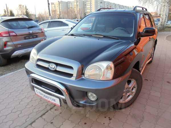 Hyundai Santa Fe, 2003 год, 445 000 руб.