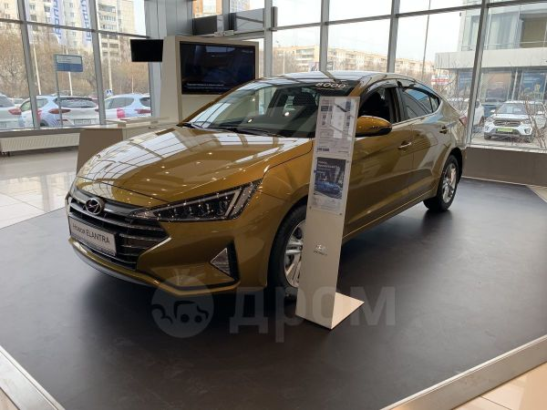 Hyundai Elantra, 2019 год, 1 336 000 руб.