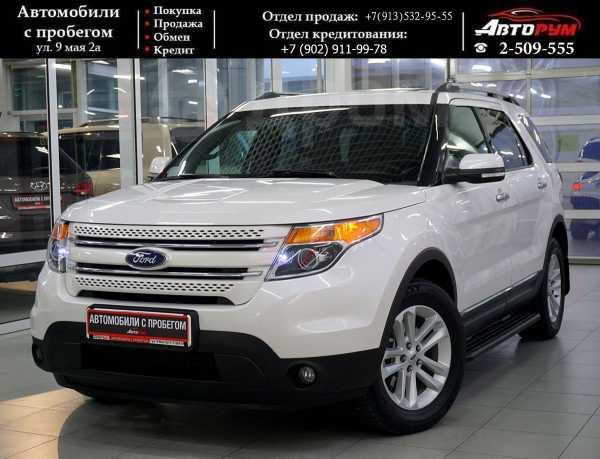 Ford Explorer, 2012 год, 1 287 000 руб.
