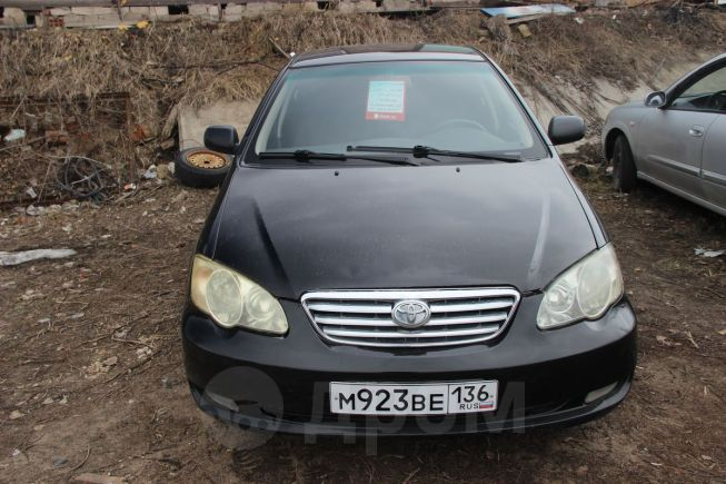 BYD F3, 2008 год, 157 000 руб.