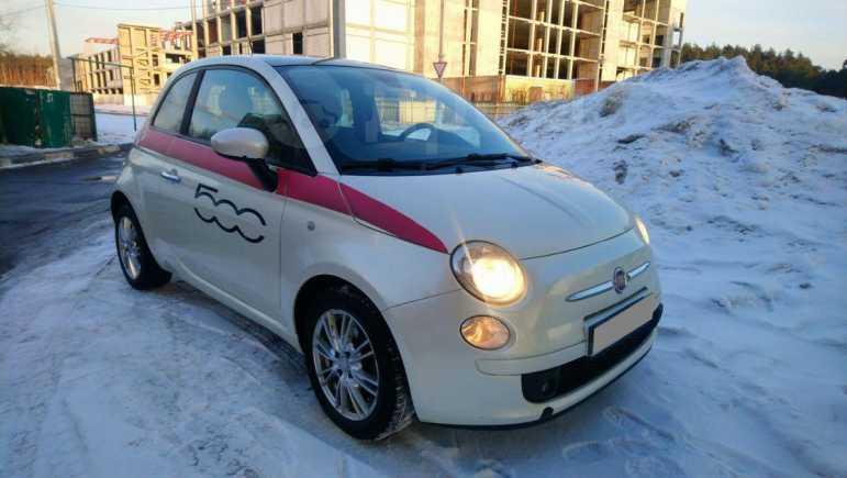 Fiat 500, 2008 год, 350 000 руб.
