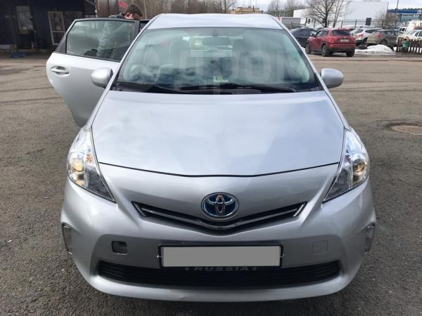 Toyota Prius v, 2014 год, 1 320 000 руб.