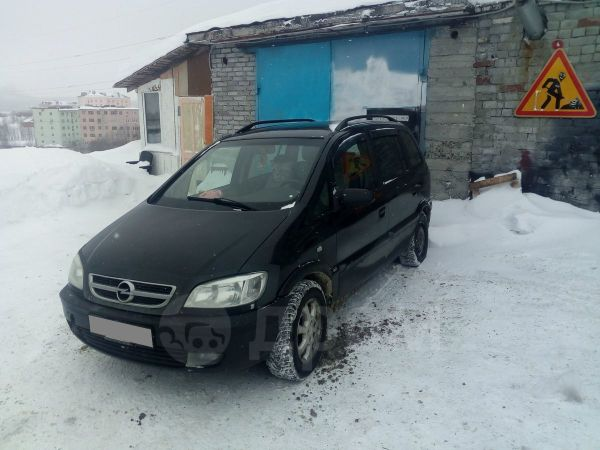 Opel Zafira, 2004 год, 80 000 руб.