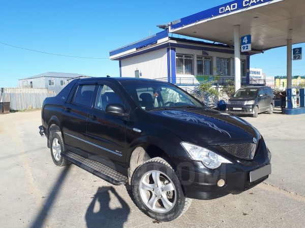 SsangYong Actyon Sports, 2009 год, 380 000 руб.